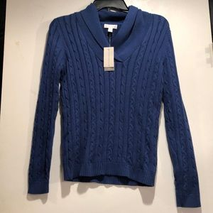Charter Club Aurora Cable Knit Sweater